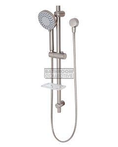 Phoenix Tapware - Vivid Rail Shower BRUSHED NICKEL
