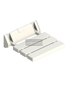 Emroware - Shower Seat White 320mm wide x 325mm deep