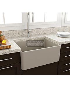 Paco Jaanson - Bocchi Casa Ceramic Kitchen Butler Sink 600mm MATTE CASHMERE