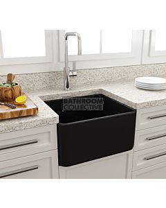 Paco Jaanson - Bocchi Casa Ceramic Kitchen Butler Sink 500mm MATTE BLACK