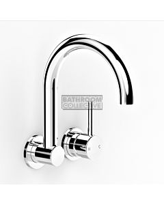 Faucet Strommen - Pegasi M Wall Mixer & Swivel Basin Spout 200mm 30652-11