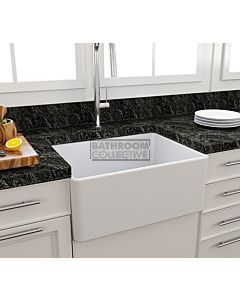Paco Jaanson - Bocchi Casa Ceramic Kitchen Butler Sink 600mm MATTE WHITE