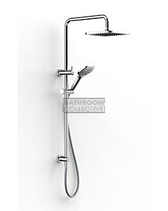 Faucet Strommen - Zeos Dual Shower 600mm Square, 100sq Handpiece 35110-11