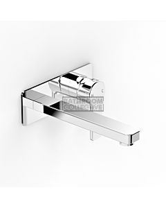 Faucet Strommen - Zeos Wall Bath Mixer 200mm 35124-11
