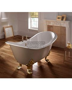 Imperial - Sheraton Slipper 1800mm Cast Iron Lion Foot Bath