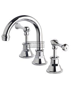 Bastow Tapware - Victorian Basin Tap Set, Lever Handles CHROME