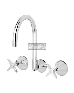 Phoenix Tapware - Ivy Wall Kitchen Sink Set