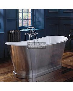 Imperial - Radison 1700mm Cast Iron Freestanding Aluminium Skirted Luxury Bath