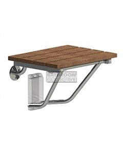 Emroware - Shower Seat Timber 375mm wide x 340mm deep