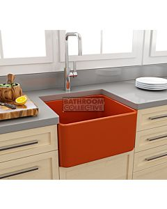 Paco Jaanson - Bocchi Casa Ceramic Kitchen Butler Sink 500mm GLOSS ORANGE BOCCHI-1136-012