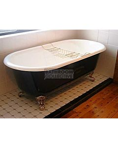 Yoki - 5' Double Ender Clawfoot Cast Iron Antique Bath 1520mm