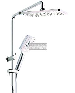 NDW - Quadrate Shower Riser Short Rail Combination Set