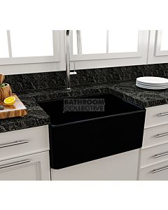 Paco Jaanson - Bocchi Casa Ceramic Kitchen Butler Sink 600mm GLOSS BLACK