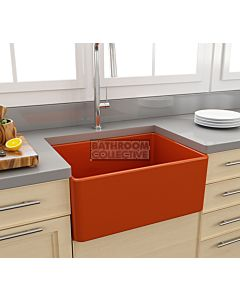 Paco Jaanson - Bocchi Casa Ceramic Kitchen Butler Sink 600mm GLOSS ORANGE