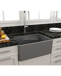 Paco Jaanson - Bocchi Casa Ceramic Kitchen Butler Sink 600mm MATTE GREY
