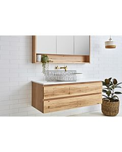 Loughlin Furniture - Avoca 900mm Real Timber Wall Hung Vanity