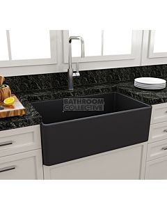 Paco Jaanson - Bocchi Casa Ceramic Kitchen Butler Sink 750mm MATTE ANTHRACITE