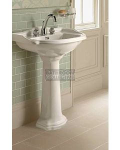Canterbury - Berkley Large Pedestal Basin 660mm x 500mm