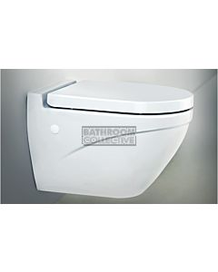 Paco Jaanson - Bocchi Taormina Floor Standing Toilet Pan (P or optional S Trap 150mm)