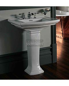 Canterbury - Shefford Large Ceramic Pedestal Basin 685mm x 550mm
