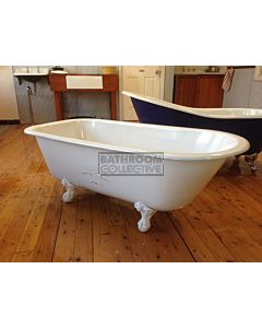 "Yoki - 4'10"" Chester Clawfoot Cast Iron Antique Bath 1480mm"