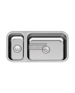 Paco Jaanson - Sardinia 802mm 1 & 1/3 Bowl Undermont Kitchen Sink