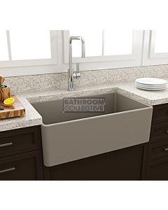 Paco Jaanson - Bocchi Casa Ceramic Kitchen Butler Sink 750mm MATTE CASHMERE