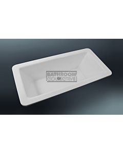 Paco Jaanson - 1700mm Rectangular Drop In Island Bath GLOSS WHITE