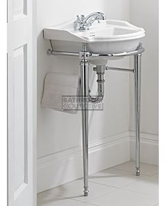 Canterbury - Berkley Small Basin on Cloak Wash Stand 660mm x 500mm
