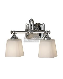 Elstead - Concord 2 Light Traditional Bathroom Above Mirror Light in Polished Chrome