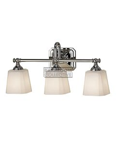 Elstead - Concord 3 Light Traditional Bathroom Above Mirror Light in Polished Chrome