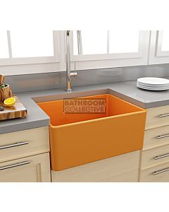 Paco Jaanson - Bocchi Casa Ceramic Kitchen Butler Sink 600mm GLOSS TANGERINE
