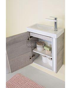 ADP - Hide Wall Hung Vanity 400mm, Ceramic Top