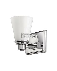Elstead - Avon 1 Light Traditional Bathroom Wall Light in Polished Chrome