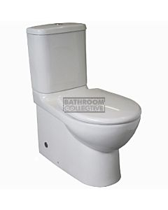 Marbletrend - Milano Back To Wall Toilet Suite (P & S Trap 90 - 270mm)