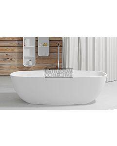Paco Jaanson - iStone 1800mm Freestanding Stone Bath Tub MATTE WHITE