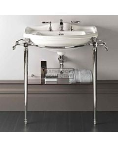 Canterbury - Berkley Large Pedestal Basin on Wash Stand 660mm x 500mm