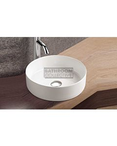 Paco Jaanson - Bellagio Halo 355mm Bench Mounted Basin GLOSS WHITE