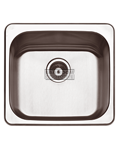 Abey - The Leichardt LT45A Drop In Laundry Sink with Bypass L509mm x W471mm x D250mm