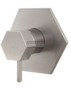 Rainware - Outdoor Miami Shower Wall Mixer Stainless Steel (Back Inlets)