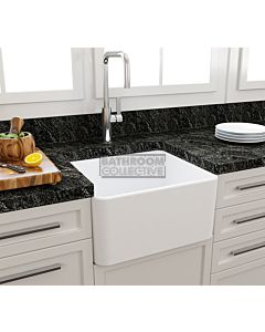 Paco Jaanson - Bocchi Casa Ceramic Kitchen Butler Sink 500mm MATTE WHITE