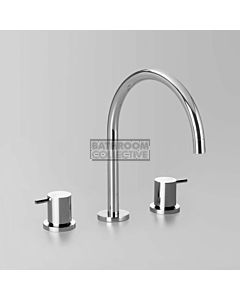 Astra Walker - Icon Hob Kitchen Sink Tap Set, Lever Handle CHROME A69.07.V9.FC