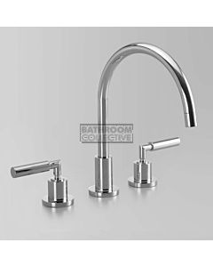 Astra Walker - Icon + Lever Hob Kitchen Sink Tap Set 200mm CHROME A67.07.V9.LH.FC