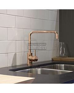 Astra Walker - Icon Kitchen Sink Mixer A69.08.V2-POLISHEDROSEGOLD