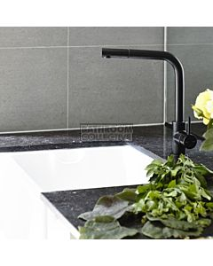 Astra Walker - Icon Kitchen Pull Out Sink Mixer A69.08.V9-MATTEBLACK