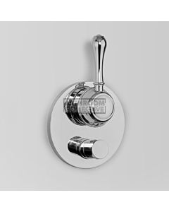 Astra Walker - Olde English Signature Wall Mixer & Diverter CHROME A50.48.V4