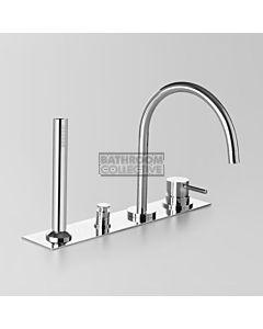 Astra Walker - Icon Hob Bath Mixer System CHROME A69.07.48.42.V4
