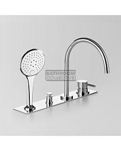 Astra Walker - Icon Hob Bath Mixer System CHROME A69.07.48.42.V5