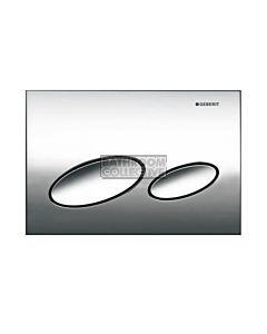 Geberit - Kappa20 Mechanical Dual Flush Button/Access Plate Chrome