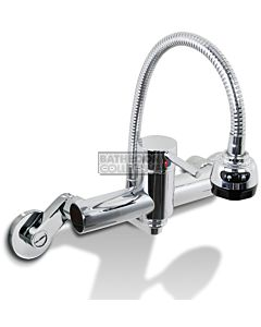 Quoss - Cobra Flexible Spout Transformer Mixer with Spout (multiple fittings available)